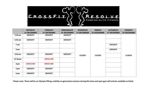 Timetable Christmas 14_1