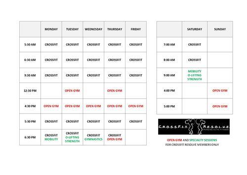 Timetable Feb 2016